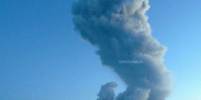 Desalojan a pobladores cercanos al volcán Santiaguito