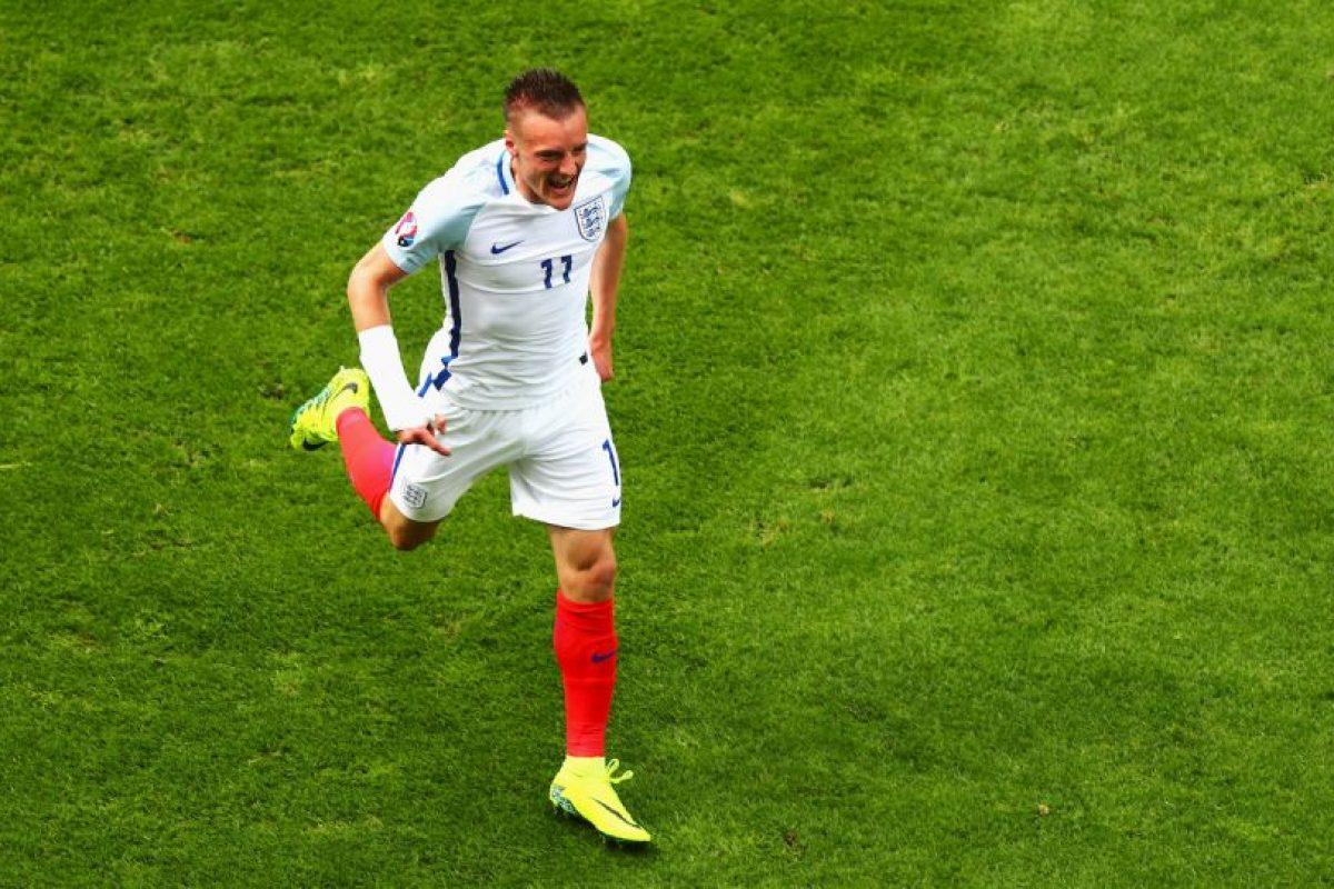 Pero al atacante poco le importó y avaló su rutina Foto:Getty Images