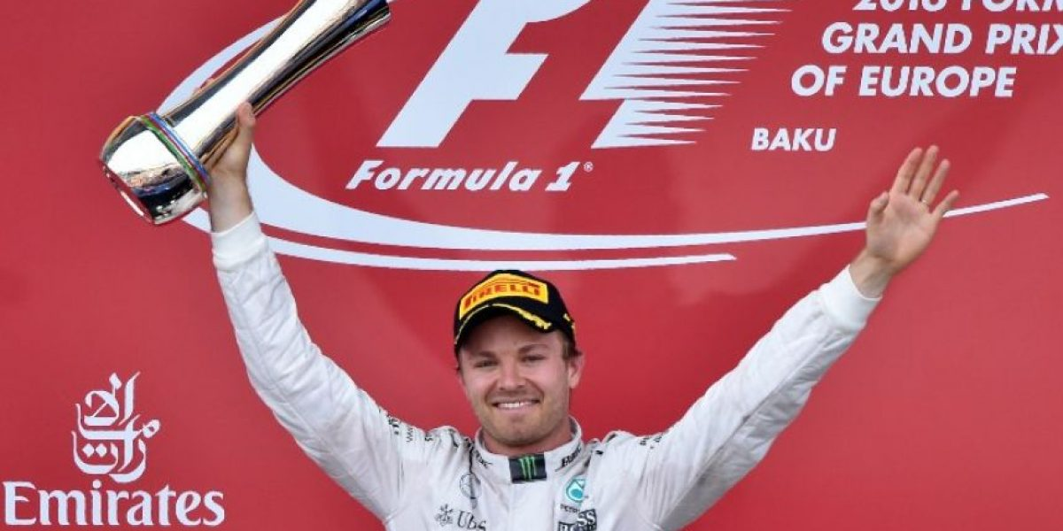 Nico Rosberg se lleva el Gran Premio de Europa