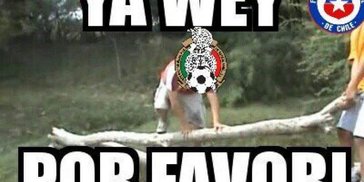 Chile propina paliza a México y los memes anotan golazo