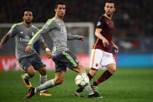 La anotación del portugués fue clave para que el Madrid ganara en el Olímpico. Foto:AFP