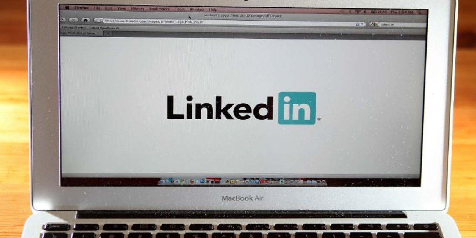 LinkedIn fue recientemente comprada por Microsoft. Foto:Getty Images