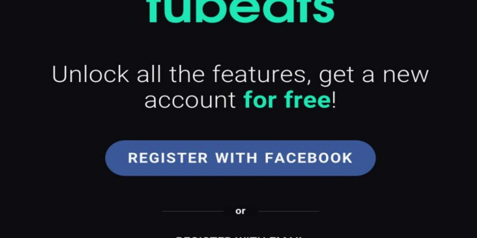 """""""Tubeats"""" también funciona en móviles. Foto:Tubeats"""