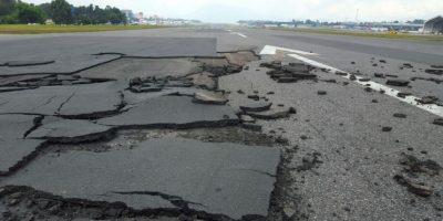 Según la DGAC, daños en aeropuerto no son en la pista activa
