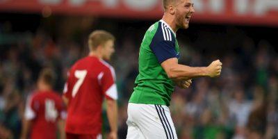 Sus condiciones convencieron al técnico de Irlanda del Norte y lo citó para la Eurocopa Foto:Getty Images