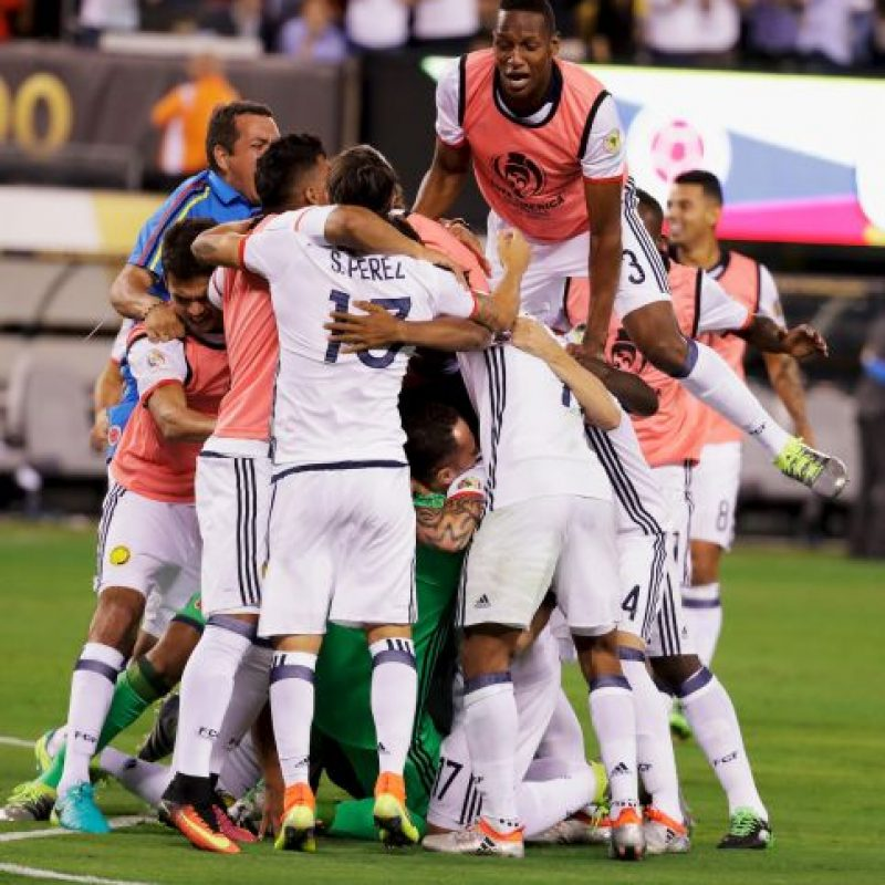 Los colombianos saben que tendrán una dura labor para derrotar al actual campeón de la Copa América Foto:Getty Images