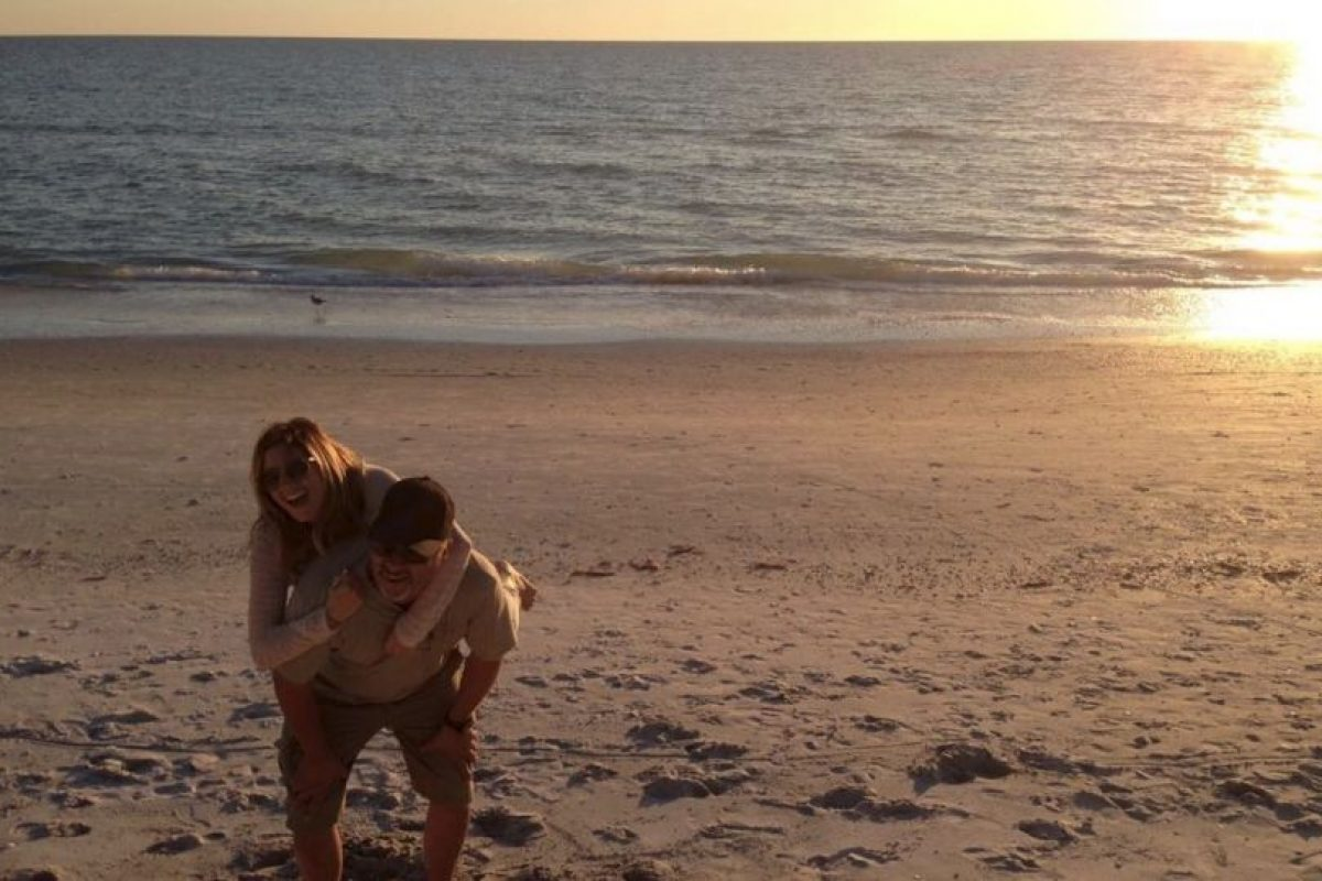 Ashley Tisdale con su padre Mike Foto: Instagram @AshleyTisdale