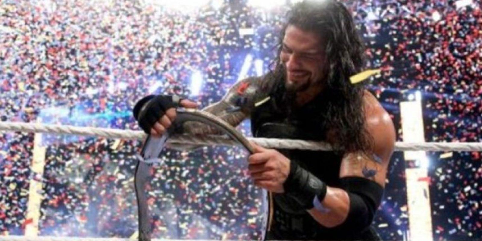 Ganó el título en Survivor Series del año pasado y ese mismo día fue despojado por Sheamus Foto:WWE