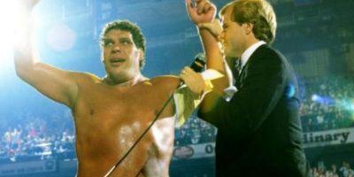 3. Andre el Gigante. The Main Event de 1998. Venció a Hulk Hogan, pero el réferi levantó las manos a ambos, dejando el título vacante Foto:WWE