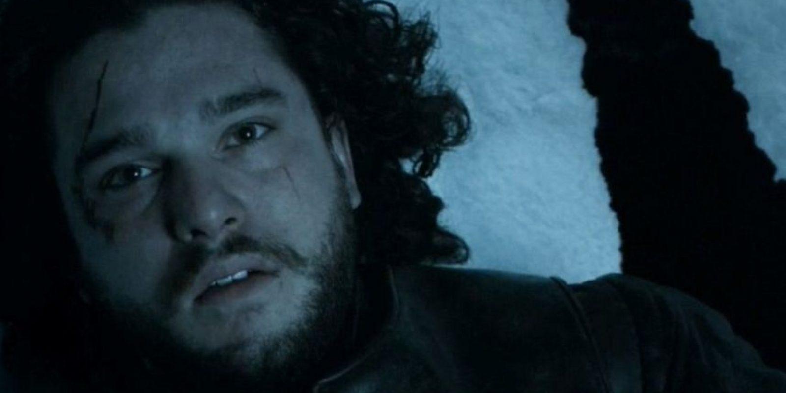 Cuando apuñalaron a Jon Snow, a todo el mundo se le fue la esperanza. Foto:vía HBO