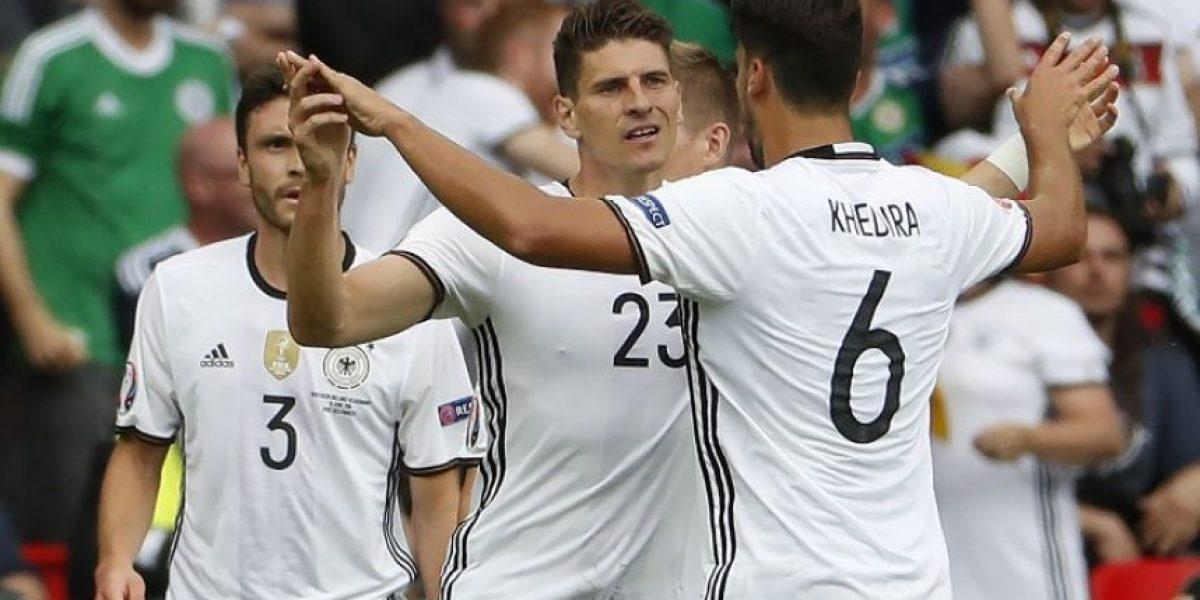 #Euro2016 Alemania gana con lo justo y avanza primera en su grupo