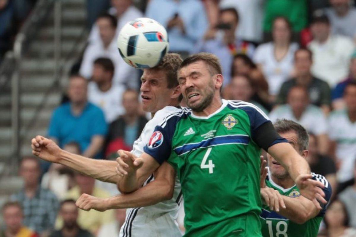 La selección campeona del mundo se impuso por la mínima diferencia contra los norilandeses. Foto:AFP