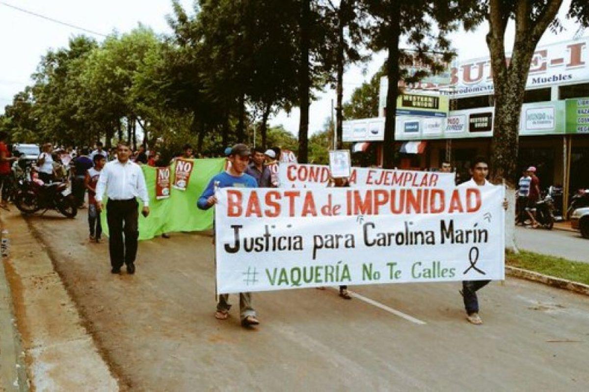 Las protestas en Paraguay contra el criadazgo Foto:twitter.com/CDIApy/