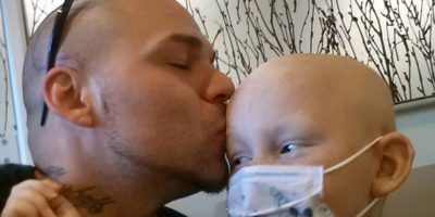 Fue diagnosticado con astrocitoma anaplástico, un tumor cerebral poco frecuente Foto:Facebook: Josh J-Mash Marshall