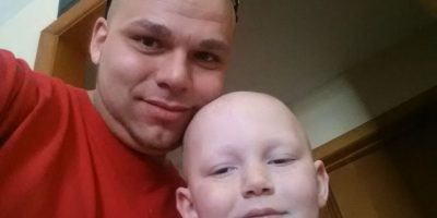 Gabriel aún tiene algo del tumor, pero su estado de salud es estable Foto:Facebook: Josh J-Mash Marshall