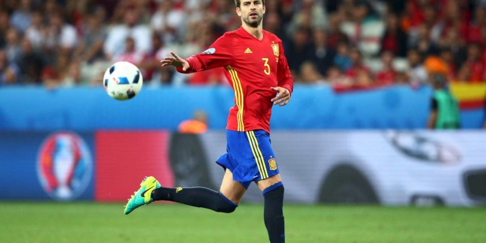 El jugador tuvo que salir a dar explicaciones tras el encuentro que perdieron con Croacia Foto:Getty Images