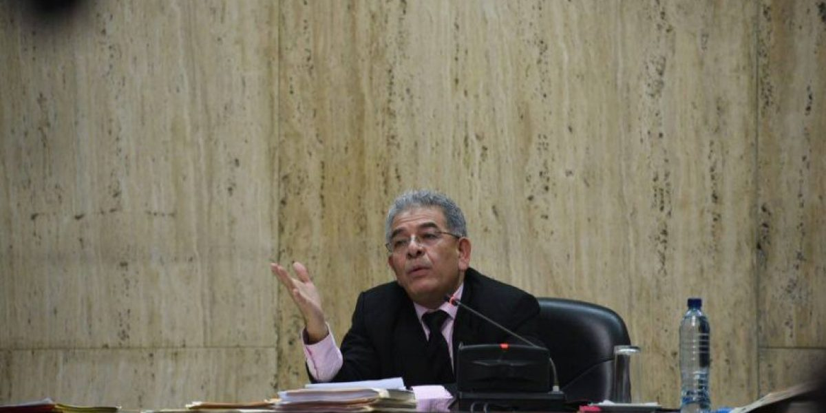 Juez Miguel Ángel Gálvez decreta reserva a funcionarios y a la Fiscal General