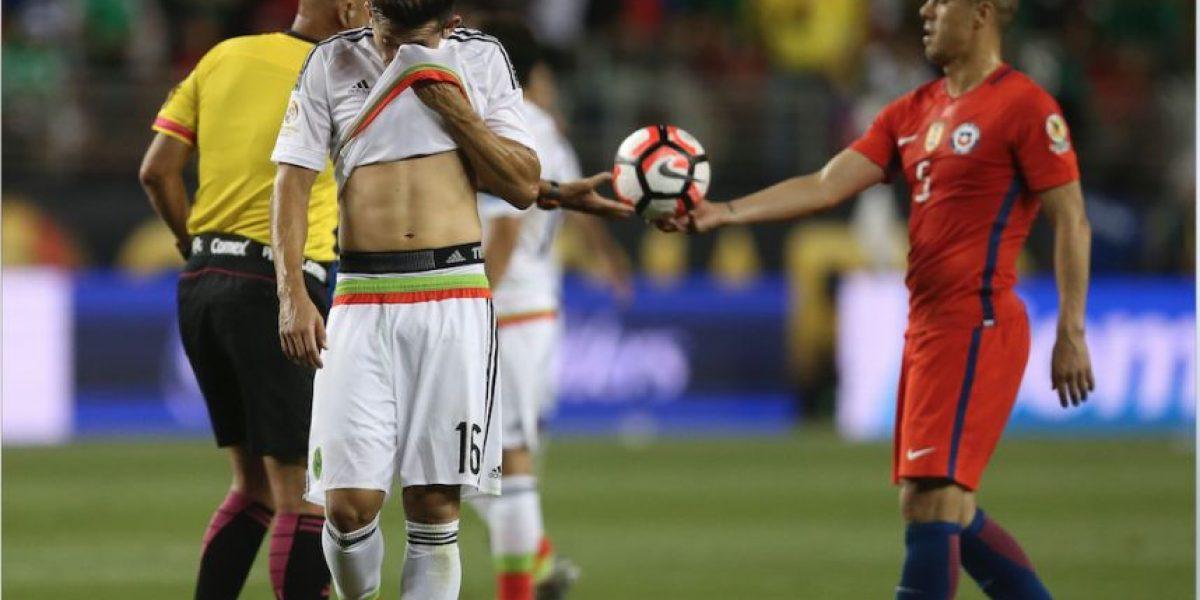 Filtran lo que pasó en el camerino de México tras el 7-0 ante Chile