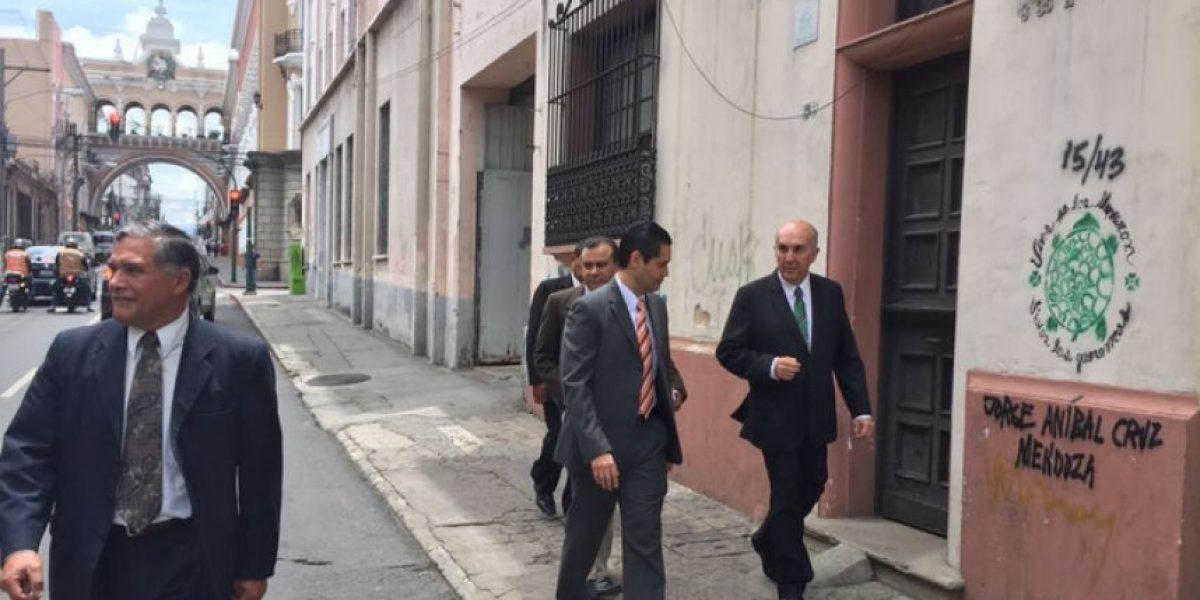 Junta directiva del Congreso busca nuevo edificio para diputados