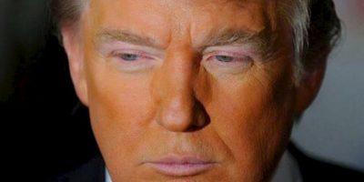 """""""Es tan pobre que no tiene para pintarse de naranja alrededor de los ojos"""" Foto:Twitter.com"""