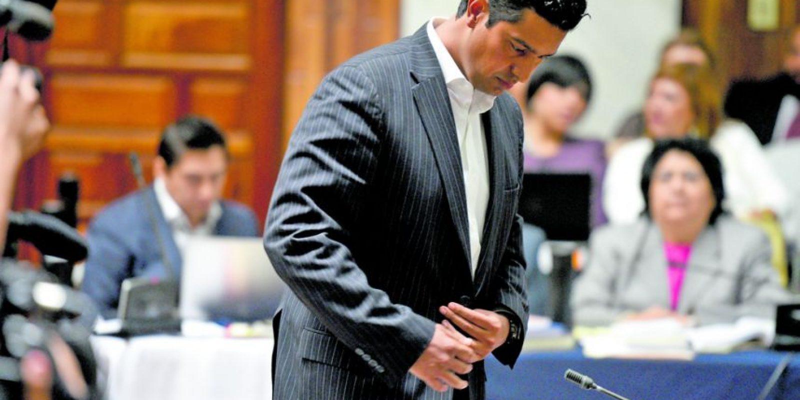 Rudy Gallardo, director del Registro Nacional de las Personas Foto:Oliver de Ros