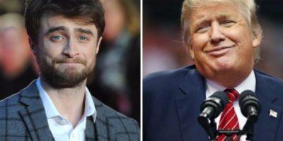 Daniel Radcliffe revela el bizarro consejo que le dio Donald Trump a los 11 años