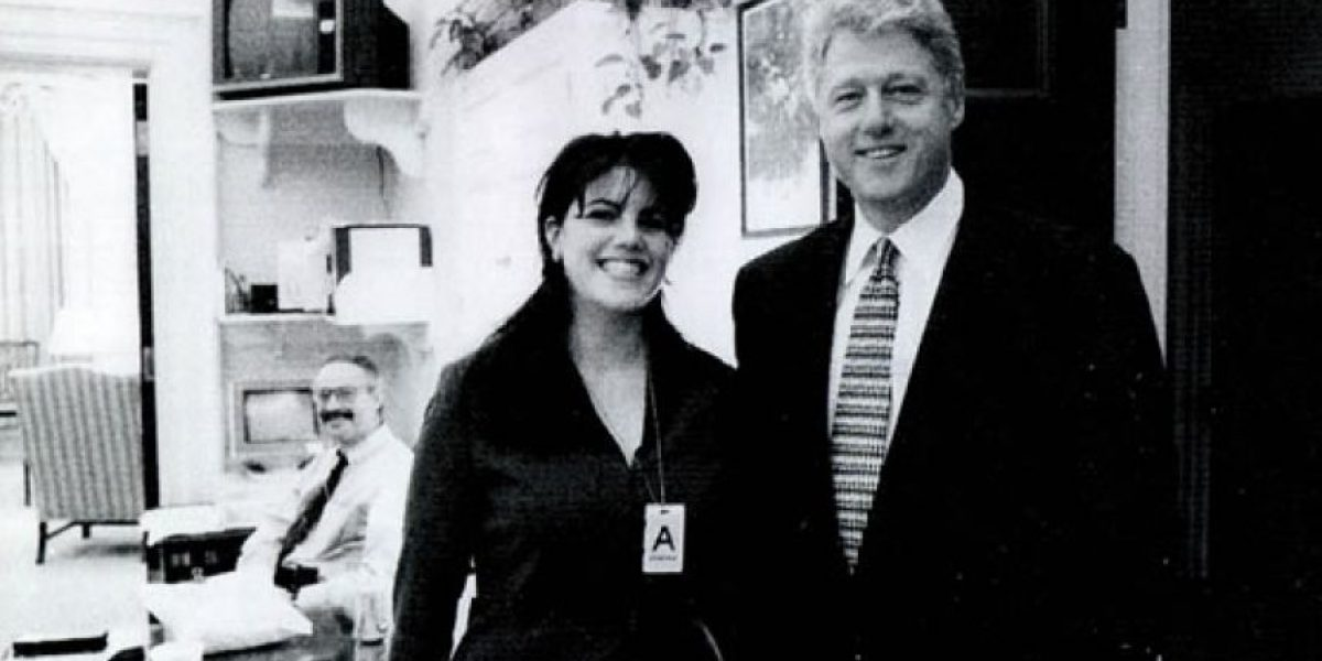 Revelan el lugar donde varias veces Clinton y Lewinsky tuvieron encuentros íntimos