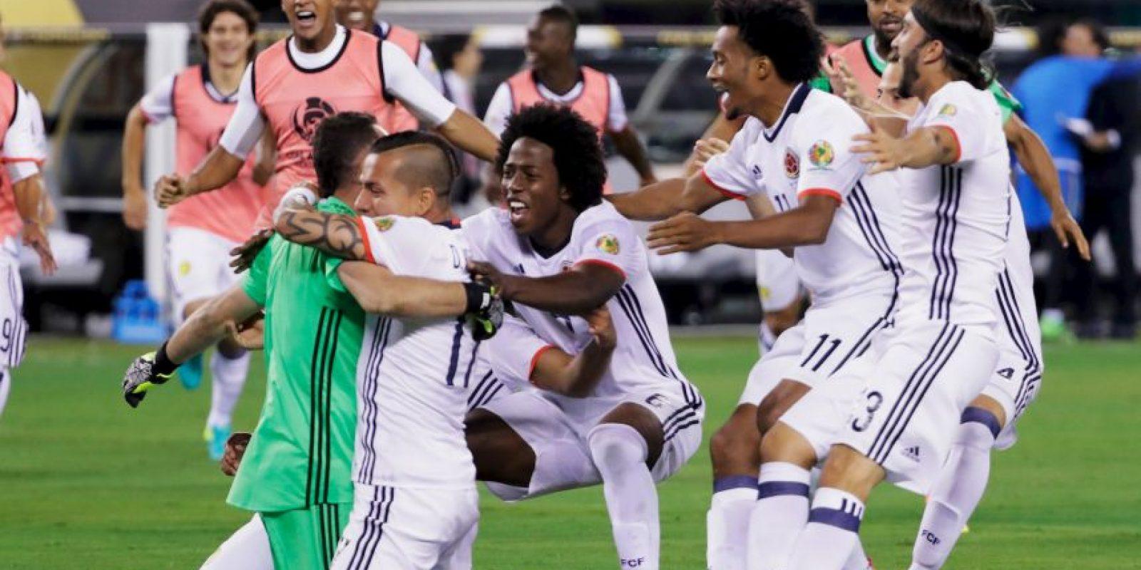 Colombia venció en penales a Perú y se ganó el cupo en la semifinal de la Copa América Centenario Foto:Getty Images