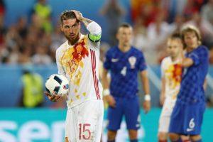 España perdió con Croacia en la última fecha y se topará con los italianos Foto:Getty Images