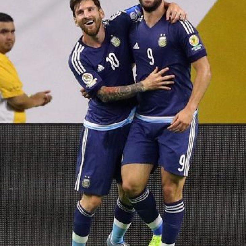 Argentina venció 4-0 a Estados Unidos Foto:Getty Images