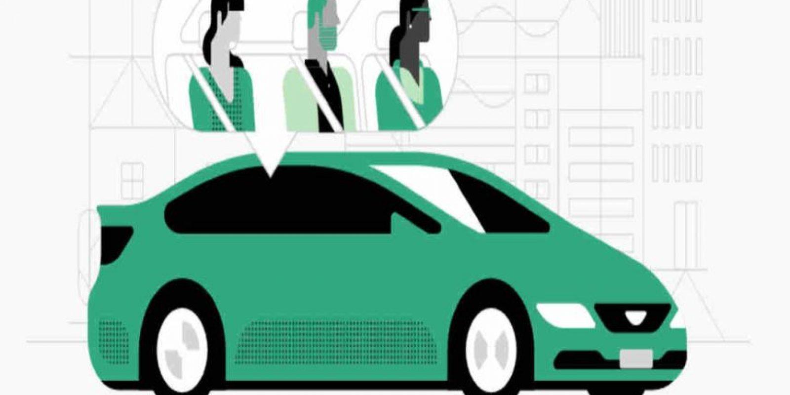 Pero es obligatorio compartir el auto con otros usuarios. Foto:Uber