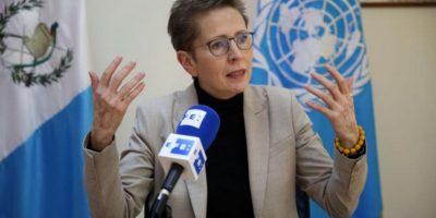 """Representante de ONU dice que ataques a Fiscal General son """"estrategia"""" contra su trabajo"""