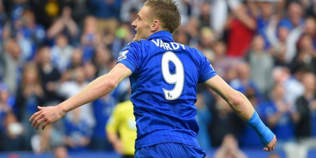 Jamie Vardy desechó a Arsenal y firmó nuevo contrato con Leicester