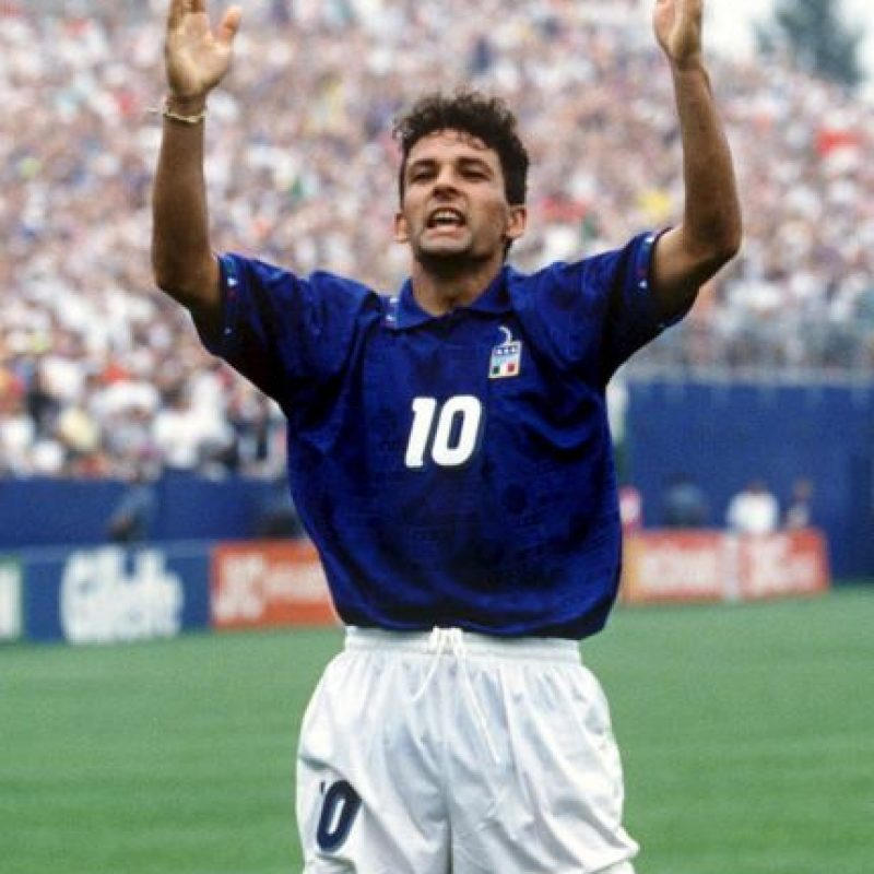 Roberto Baggio (Italia) Foto: Getty Images