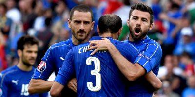 Los italianos también cumplieron su labor y ganaron su grupo Foto:Getty Images
