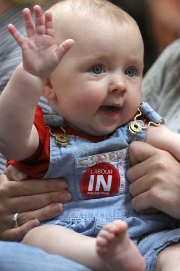 El Partido Laborista realizó un evento con bebés Foto:Getty Images