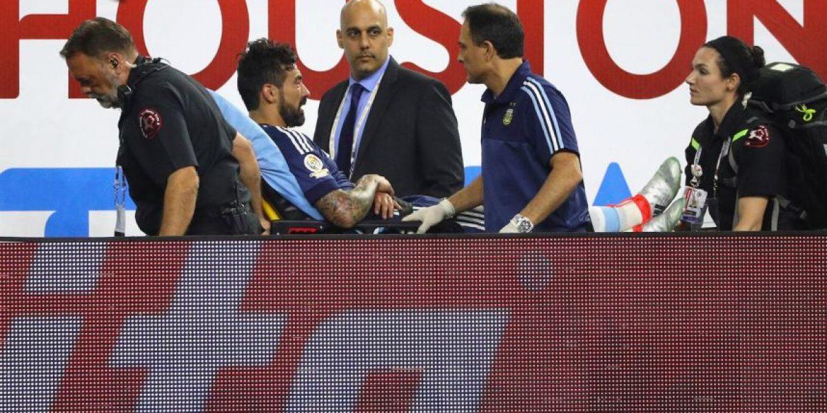 La gran culpa de Mascherano tras la lesión de Ezequiel Lavezzi