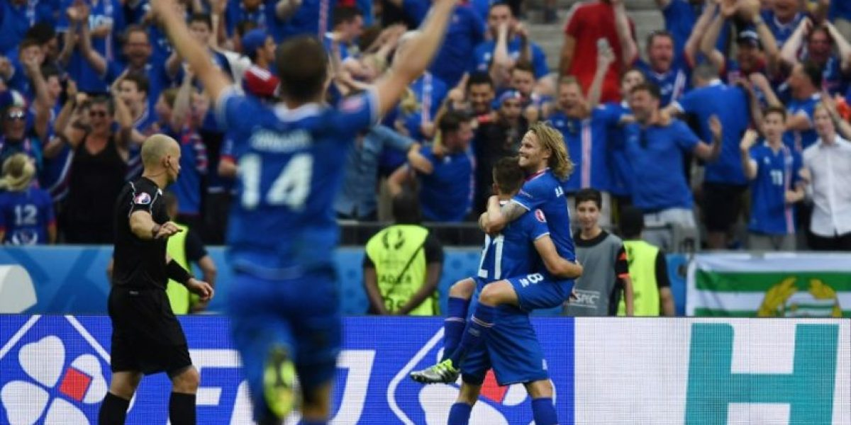 La modesta Islandia hace historia y se mete a octavos de la EURO