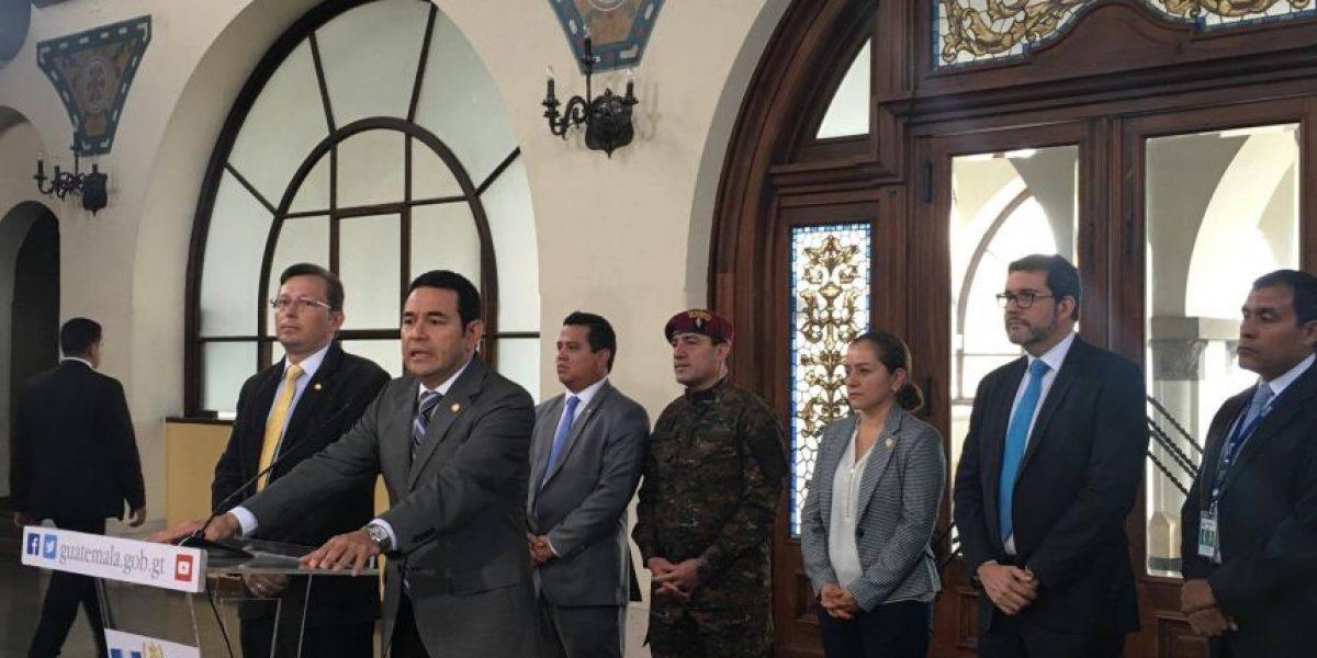Jimmy Morales expresa su tristeza por golpe contra el plan de inmigración de Barack Obama