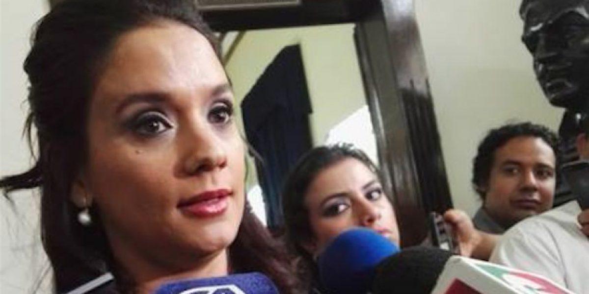 Diputada del PP se queja que ha sido afectada por acusaciones contra Pérez