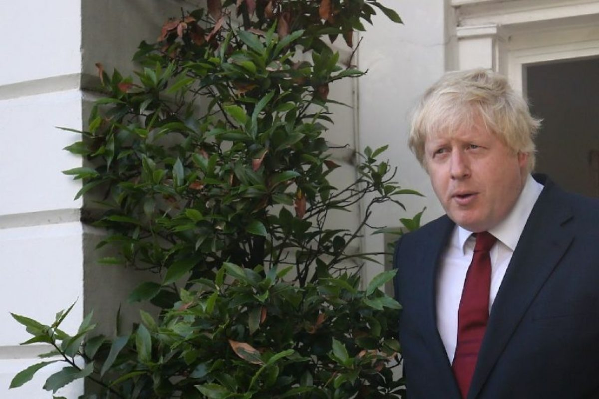Y el exalcalde de Londres, Boris Johnson Foto: AFP