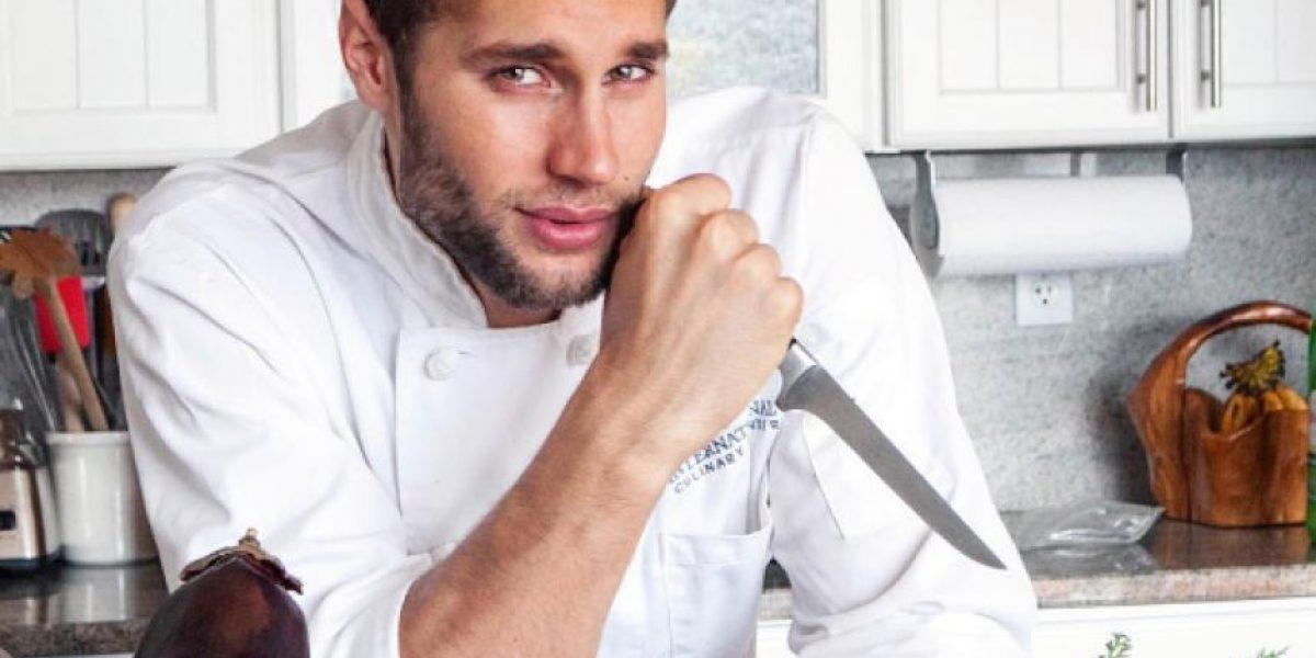 Conoce al chef más sexy del mundo ¡Sus fotos te derretirán!
