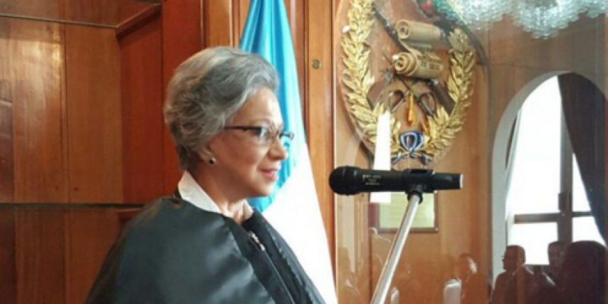 María Eugenia Morales Aceña toma posesión como magistrada de CSJ