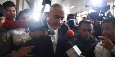 "Pérez Molina ha dicho esta semana que ""está preparado"" para defenderse. Foto:Oliver de Ros"