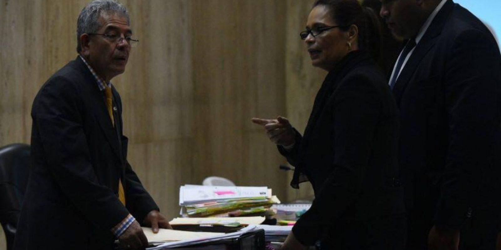 Baldetti pide por su salud al juez. Foto:Oliver de Ros