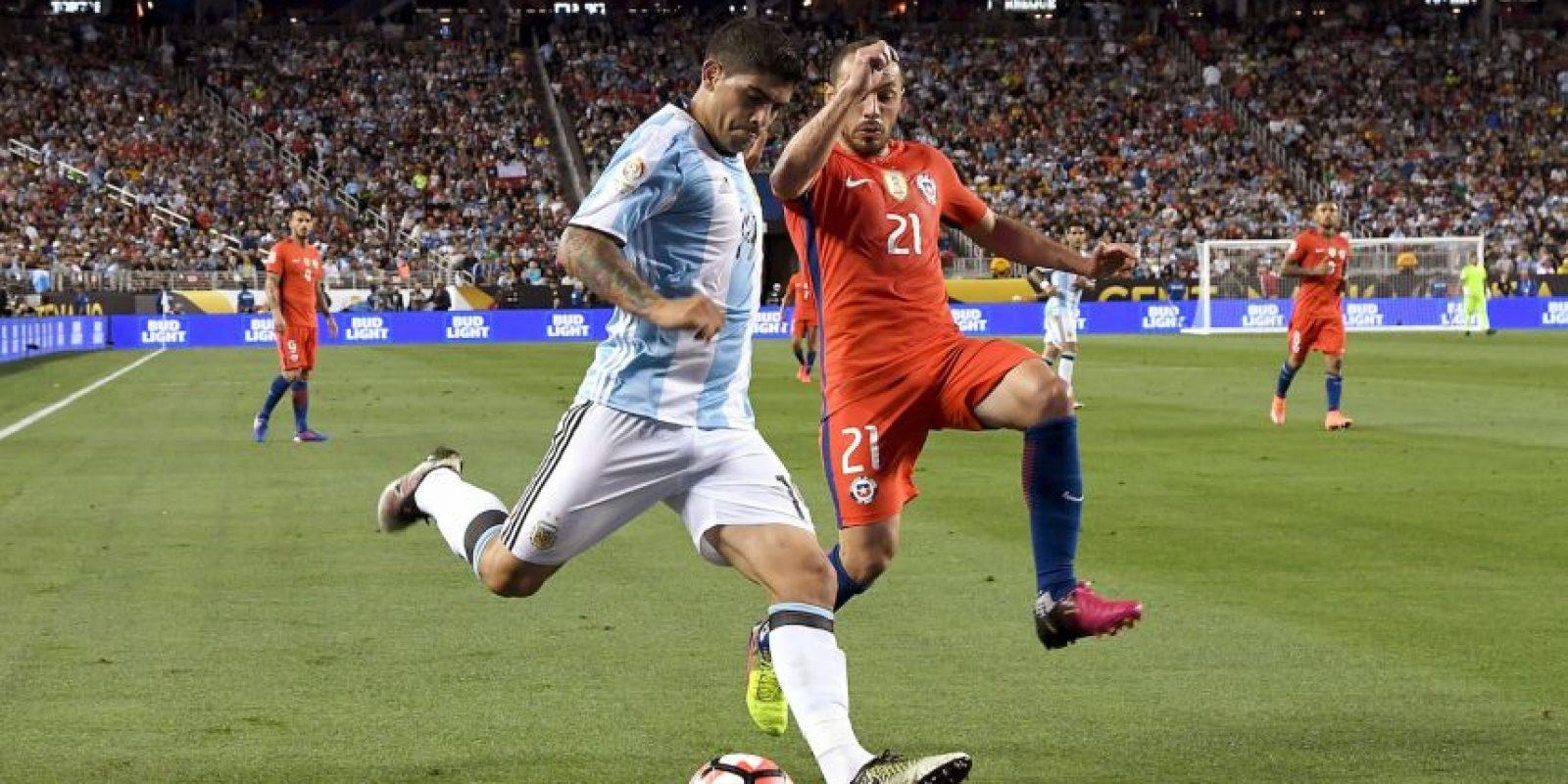 Por lo que el ganador del domingo sólo será campeón de la Copa América Centenario, torneo que se hará sólo una vez en la historia Foto:Getty Images