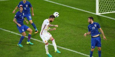 Los goles de cabeza fueron los más repetidos en la fase de grupos Foto:Getty Images