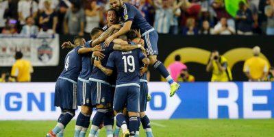 Argentina llega a la final de la Copa América Centenario tras vencer por 4 a 0 a Estados Unidos Foto:Getty Images