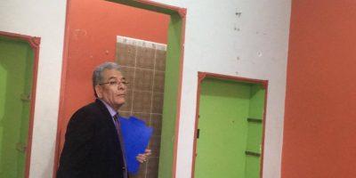 Interior de la cárcel en cuartel de Matamoros tras inspección del juez Gálvez