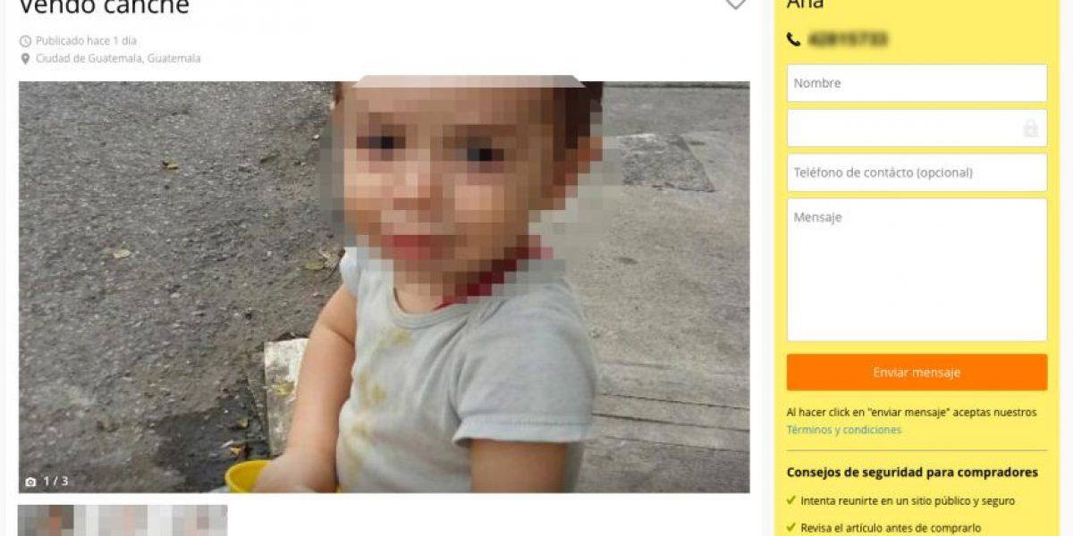 PGN investiga caso de supuesto niño en venta en internet